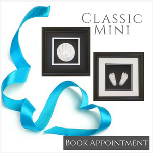 lifecasting and raised impression classic mini shadow boxes