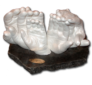 Family LifeCast Statues