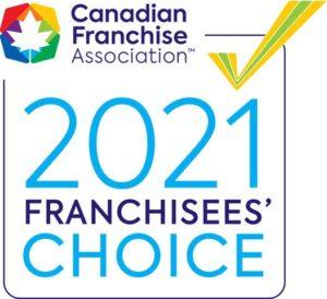 2021 Franchisee Award